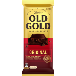 Photo of Cadbury Old Gold Dark Chocolate Original 180g