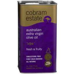 Photo of Cobram Estate Fresh & Fruity Extra Virgin Olive Oil 3