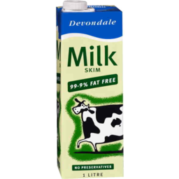 Photo of Devondale Skim Long Life Milk 1ltr
