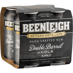 Photo of Beenleigh Double Barrel & Cola Can