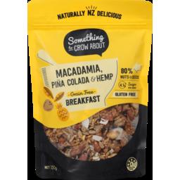 Photo of Something To Crow About Gluten Free Macadamia Pina Colada + Hemp 350g