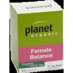 Photo of Planet Organic - Female Balance - 25 Tea Bags