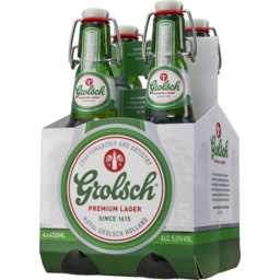 Photo of Grolsch Premium Lager 330ml 4 Pack