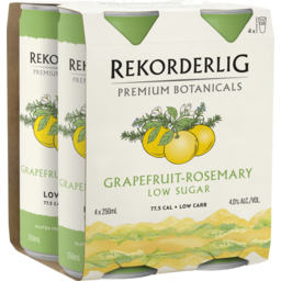 Photo of Rekorderlig Botanicals Grapefruit Rosemary Can