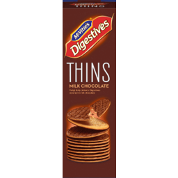 Photo of Mcvities Thins Milk Choc 150g