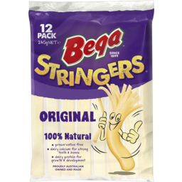 Photo of Bega Stringers Original 12 Pack 240g