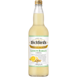 Photo of Bickfords Lemon Barley Cordial 750ml