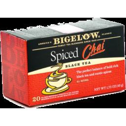 Photo of Bigelow Spiced Chai Black Tea