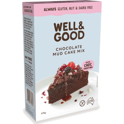 Photo of Well & Good Chocolate Mud Cake Mix 475gm