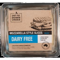 Photo of Dairy Free Down Under Mozzarella Cheese Slices Vegan 200g