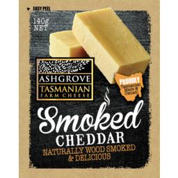 Photo of Ashgrove Smoked Cheddar Cheese 140g