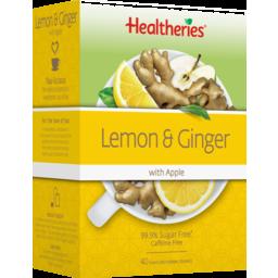 Photo of Healtheries Tea Lemon & Ginger 40