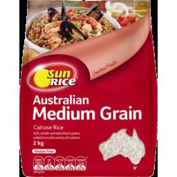 Photo of Sunrice Medium Grain White Rice 2kg