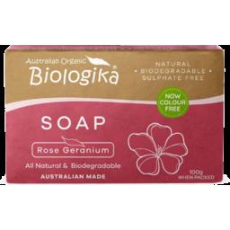 Photo of Biologika Soap - Rose Geranium