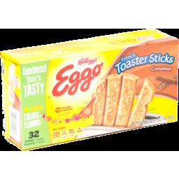 Photo of Kellogg's Eggo French Toast Sticks Cinnamon - 32 Ct