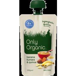 Photo of Only Organic Banana Kumara & Quinoa 120gm