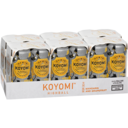 Photo of Koyomi Mandarin & Grapefruit Can