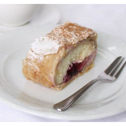 Photo of YIANNI FINE FOODS CHERRY CHEESE STRUDEL PIECE