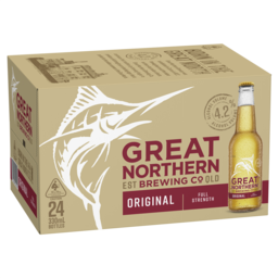 Photo of Great Northern Brewing Co Original Lager Stubbies