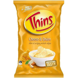 Photo of Thins Chips Cheese & Onion 175g