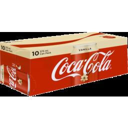 Photo of Coca Cola Vanilla 10x375ml