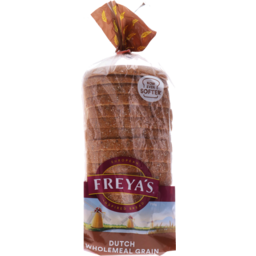 Photo of Freyas Bread Dutch Wholemeal Grain 750g