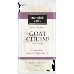 Photo of Meredith Dairy Goat Cheese Fresh Chevre Australian Native Pepperberry 150g
