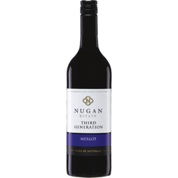 Photo of Nugan Estate Third Generation Merlot 750m
