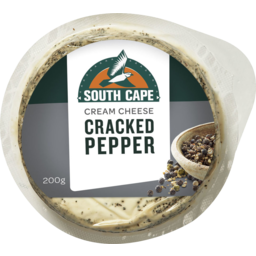 Photo of South Cape Cracked Pepper Cream Cheese 200gm