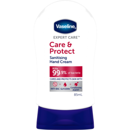 Photo of Vaseline Expert Care Care & Protect Sanitising Hand Cream 85ml