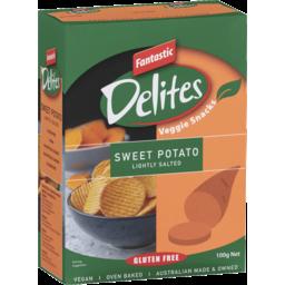 Photo of Fantastic Delites Veggie Snacks Sweet Potato Lightly Salted 100g