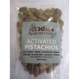 Photo of Activated Organic Pistachios 100g