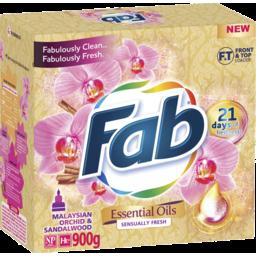 Photo of FAB Laundry Powder Essential Oils in Fresh 1.8kg