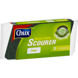 Photo of Chux Scourer Pad Heavy Duty 3pk