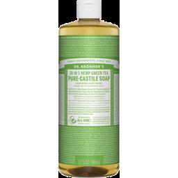 Photo of Dr Bronner's Pure-Castile Liquid Soap - Green Tea
