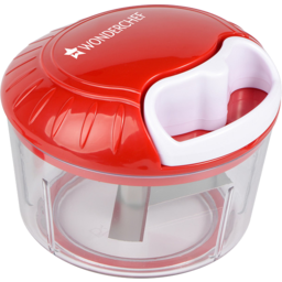 Photo of Wonderchef Jumbo String Plastic Chopper White/Red