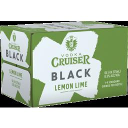 Photo of Vodka Cruiser Black Lemon Lime Bottles