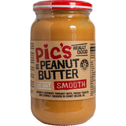 Photo of Pic's Peanut Butter Smooth No Salt 380g