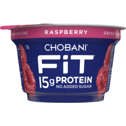 Photo of Chobani Fit Raspberry Greek Yogurt 170g