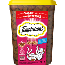 Photo of Whiskas Temptations Beef Tub 454g