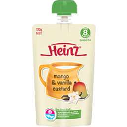 Photo of Heinz Mango & Vanilla Custard 120gm