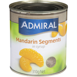 Photo of Admiral Mandarin Segments 310g