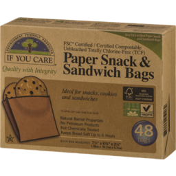 Photo of If You Care - Sandwich Paper Bags