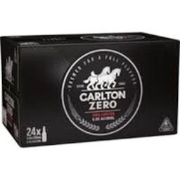 Photo of Carlton Zero Bottle 24x330ml