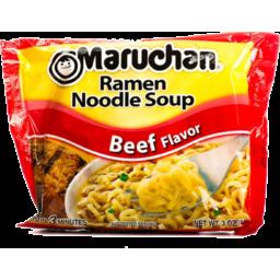 Photo of Maruchan Ramen Noodle Soup Roast Beef Flavor
