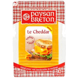 Photo of Paysan Breton Le Cheddar Red Slices 160g