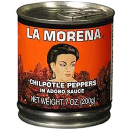 Photo of La Morena Chipotle Peppers in Adobo Sauce 200gm