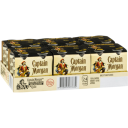Photo of Captain Morgan Original Spiced Gold & Dry 6% Cans