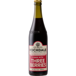 Photo of Rochdale Cider Three Berries 500ml