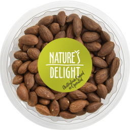 Photo of Natures Delight Tub Natural Almonds 175g